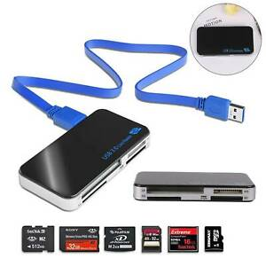 All In One Multi Memory Card Reader Adapter CF Micro SD HC SDXC TFLASH USB 3.0