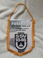 *RAR* Orig. Wimpel SSV Ulm 1846 Saison 1998/99 Fussball 2.Bundesliga Wimpel DFB