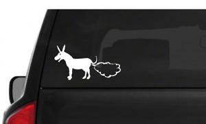 Donkey Fart Car Window Sticker Vinyl Decal Funny Novelty Bumper Sticker 2x