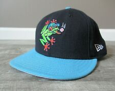 Everett AquaSox New Era Fitted Hat Cap 7 5/8 Vintage Seattle Mariners MiLB