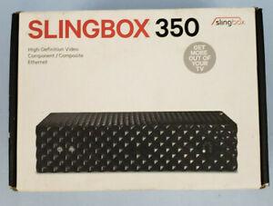 SLINGBOX 350 Digital HD Media Streamer, Sling Media SB350, Open Box