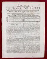 Palais Épiscopal de Fréjus en 1791 Var Drome Droits Féodaux Révolution Française