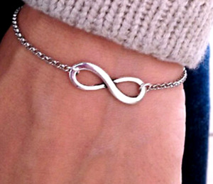 Bracelet Charm Fashion Vintage Infinity 8 Bracelets Bangles pulseiras