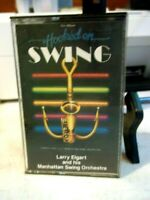 HOOKED ON SWING, LARRY ELGART AND HIS MANHATTAN SWING ORCHESTRA, CASSETTE