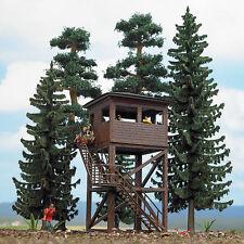 Busch 6394 échelle H0 Ensemble de forêt / Tour d'observation #