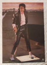 Michael Jackson 1984 Poster Billie Jean Video Brand New Condition