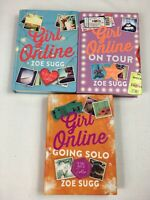 Girl Online 3 Book Set Collection, By Zoe Sugg - Zoella Going Solo On Tour