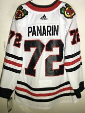 adidas Authentic NHL Jersey Chicago Blackhawks Artemi Panarin White sz 54