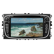 "7"" Car DVD Player Stereo Sat Nav GPS BT Ford Focus Mondeo C/S-Max Galaxy UK"