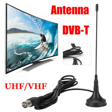 DVB-T Antena de TV digital Interior UHF VHF HDTV Amplificador de señal aérea
