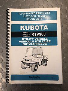 KUBOTA RTV900 ILLUSTRATED PARTS LIST UTILITY VEHICLE