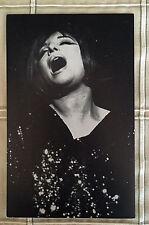 Vintage BARBRA STREISAND Post Card From Her Fan Club c-1970's L@@K