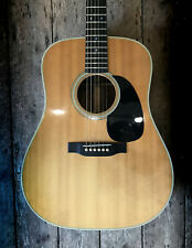 1971 MARTIN D28 DREADNOUGHT ACOUSTIC IN NATURAL FINISH & HARD SHELL CASE