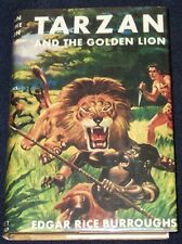 TARZAN & THE GOLDEN LION Edgar Rice Burroughs BOYS EDITION 1958 G&D #9 in series