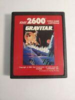 Gravitar (Atari 2600, 1988) -  TESTED - CART ONLY