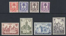 BELGIUM : 1951  Anti-Tuberculosis & other Funds set SG 1381-8 MNH