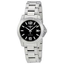 Longines Conquest Black Dial Ladies Watch L33774586