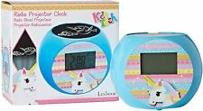 Lexibook Unicorn Radio Projector Clock With Nature Sound Effects