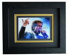 Cliff Richard Signed 10x8 Framed Autograph Photo Display Music COA