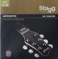 Jeux de 6 Cordes Pour Guitare Accoustique Phospohore Bronze EXTRA LIGHT