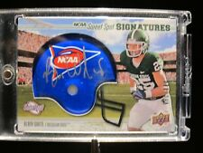 2010 UD Sweet Spot Sign Blair White ROOKIE HELMET PATCH AUTO /350 #102