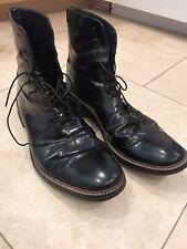 Zara Black Leather Ankle Boot Men 44 (11)
