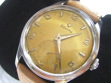 VINTAGE 35MM 1940'S SS ZENITH MANUAL SUBDIAL CAL 12-4-P   - RARE           *6569