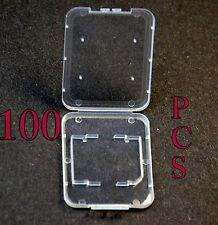 100 SD SDHC Jewel case for Sandisk 4gb 16gb 32gb 64gb secure digital memory card