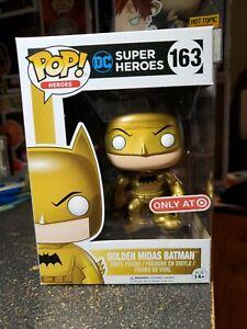 DC Super Heroes Golden Midas Batman Target Exclusive Pop! Figure #163 Funko