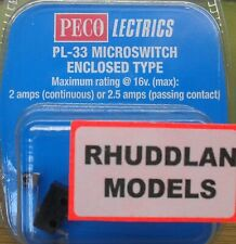 New Peco Lectrics PL-33 Microswitch Controlled Type