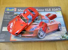 MERCEDES BENZ SLS 6.3 AMG GULL WING COUPE 1:24 REVELL MODEL KIT BODY FINISHED
