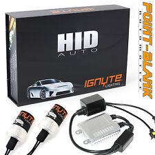 H4 Single Beam 12000K Ignyte Lighting 35W HID Slimline Canbus Conversion Kit