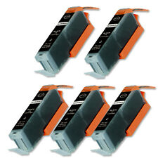 5 BLACK Ink Cartridge with Chip fits Canon CLI-251 MG5422 MG6620 MX922