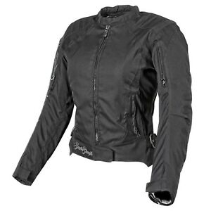 NOS SPEED AND STRENGTH 877828 HEART AND SOUL JACKET BLACK SILVER SIZE WOMENS 2XL