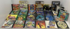 Lot of 27 Children's Kids Computer Learning Games for PC CD-ROM Windows & Mac