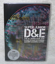 SUPER JUNIOR D&E THE 1st JAPAN TOUR 2014 Taiwan DVD (Chinese-sub.)