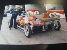 Photo Ferrari 126 C2 1982 #28 Didier Pironi (FRA) Grand Prix Zandvoort