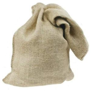 Jute Hessian Sacks Bags Breathable for Garlic Potato Vegetable Storage Wholesale