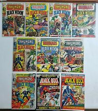 AMAZING ADVENTURES #1-10 FULL RUN LOT Black Widow Inhumans HI GRADE Avg F/VF