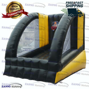 8.2x11.5ft Inflatable Basketball Hoop Sport Game Carnival Play With Air Blower