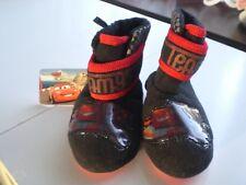 """M & Co. niño negro y rojo """"Cars de Disney"""" Zapatillas Botas. Talla 6 (EUR 23)"""