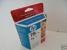 NEW HP 78+ Tri-Color InkJet Cartridge 400 Page 920 1220 1218 1315 1115 CB277AN