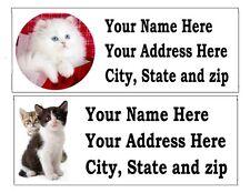 120 Kitten Return Address Labels
