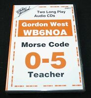 Morse Code Introduction 0-5 WPM by Gordon West - 2CD's ( GWCT )