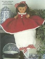 *Sweetheart Doll Hide-a-Bag crochet PATTERN INSTRUCTIONS