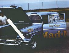 "1960s Drag Racing- Larry Kopp's ""Mad-Man"" 1957 Chevy Wagon F/Gasser"