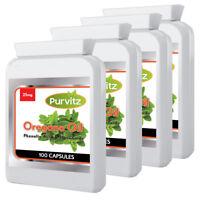 Wild Oregano Oil 400 Capsules Rapid Release Sofgels Made IN UK Purvitz