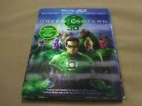 Green Lantern (3D&Blu-ray, 2011, 2-Disc Set, Extended Cut **No Digital** Mint!!