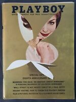 Playboy - 1961 December with Centerfold - GREAT condition magazine & Ads