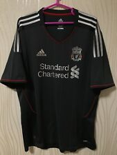 LIVERPOOL 2011 2012 ADIDAS AWAY FOOTBALL SHIRT JERSEY ENGLAND